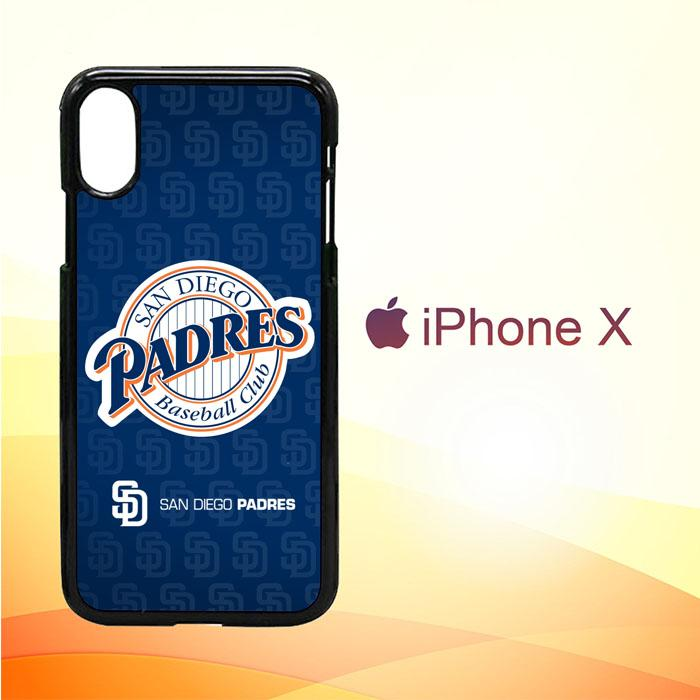 San Diego Padres Z3210 iPhone X | iPhone XS Premium Case New Year Gifts 2020-iPhone X Cases-Recovery Case