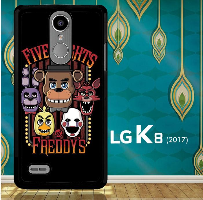 Five Nights At Freddy'S Characters Z4221 LG K8 2017 / LG Aristo / LG Risio 2 / LG Fortune / LG Phoenix 3  Case - xevorn