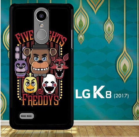 Five Nights At Freddy'S Characters Z4221 LG K8 2017 / LG Aristo / LG Risio 2 / LG Fortune / LG Phoenix 3  Case
