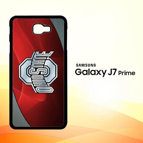 Ohio State Red Z4242 Samsung Galaxy J7 V , J7 Sky Pro, J7 Prime, J7 Perx 2017 SM J727 Case Cover Cases