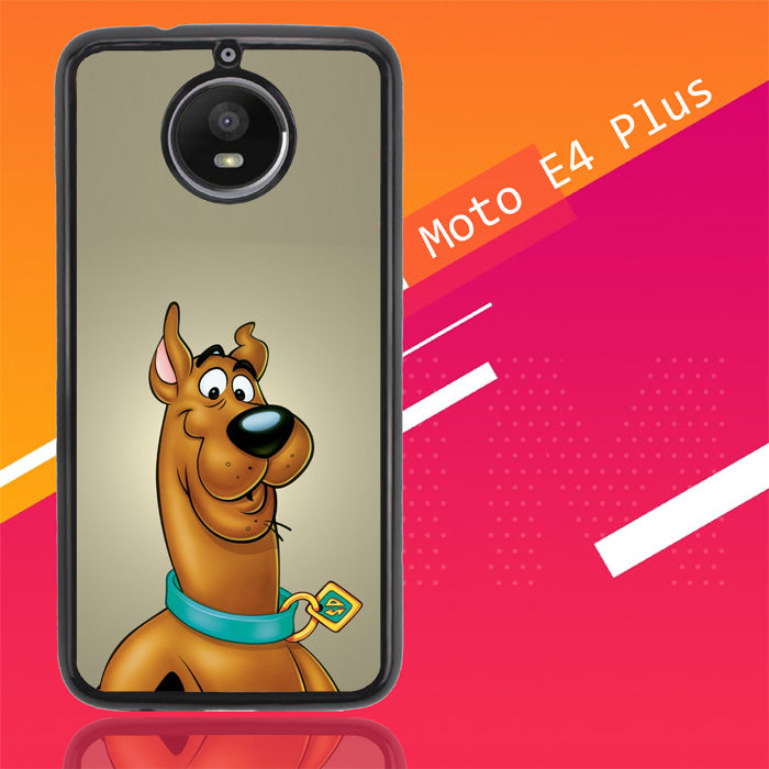 Scooby Doo Face Z4301 Motorola Moto E4 Plus Case New Year Gifts 2020-Motorola Moto E4 Plus-Recovery Case