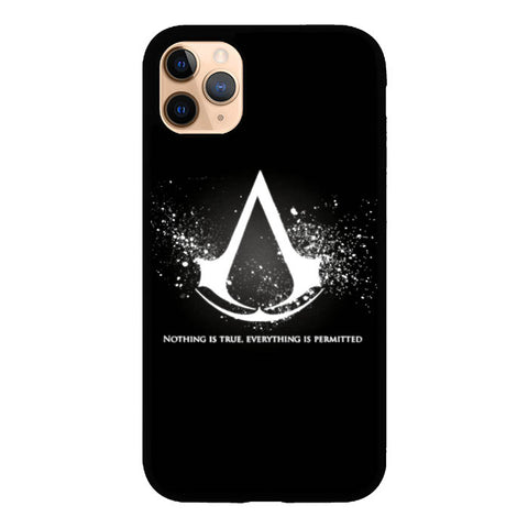 Assassins Creed Symbol Glow Z4434 iPhone 11 Pro Max Case