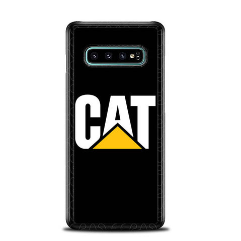 caterpillar logo black Z4462 Samsung Galaxy S10 Plus Cover Cases
