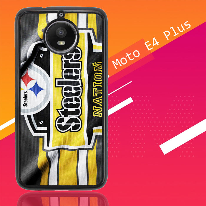 Pittsburgh Steelers Nation Z4881 Motorola Moto E4 Plus Case New Year Gifts 2020-Motorola Moto E4 Plus-Recovery Case