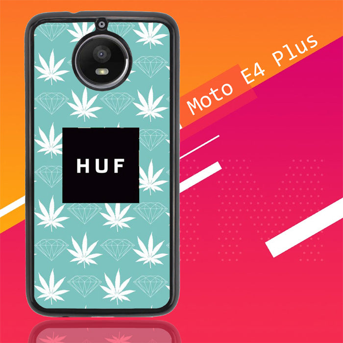 Weed Diamons Huf Logo Z4935 Motorola Moto E4 Plus Case Christmas Gifts | Xmas Presents and Gift Ideas-Motorola Moto E4 Plus-Recovery Case