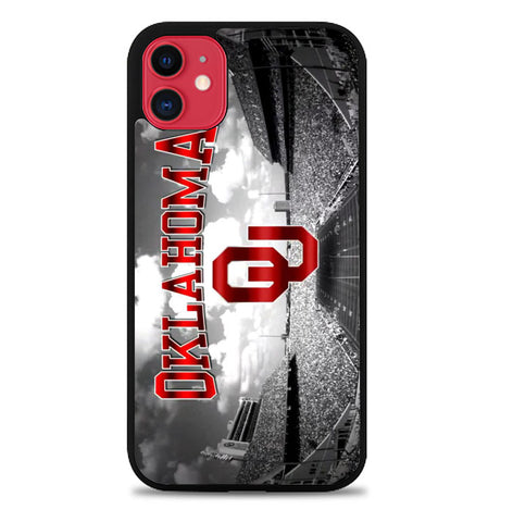 oklahoma sooners Z4419 iPhone 11 Case