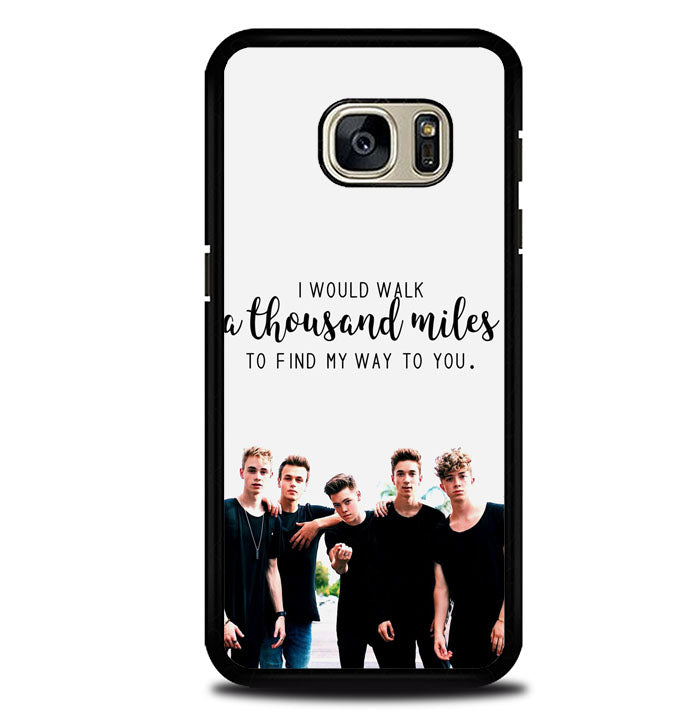 why dont we Z4543 Samsung Galaxy S7 Case