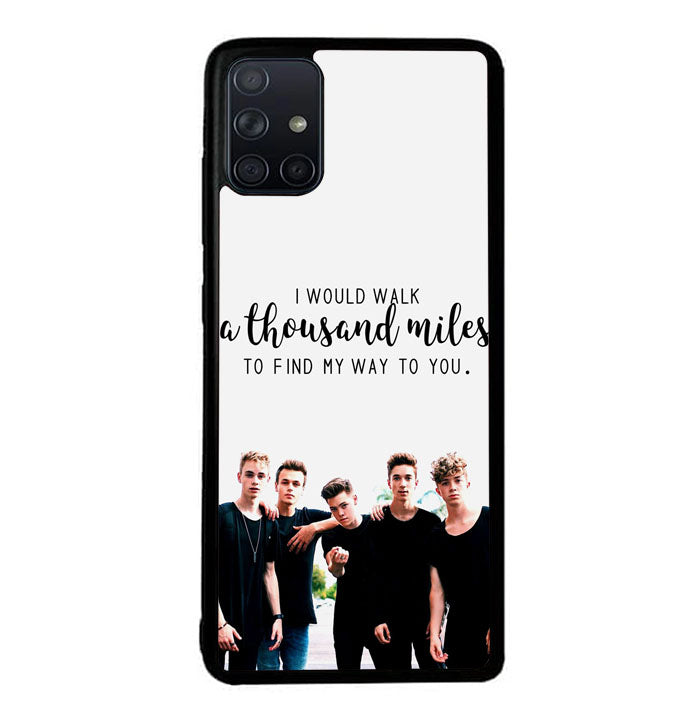why dont we Z4543 Samsung Galaxy A51 Case