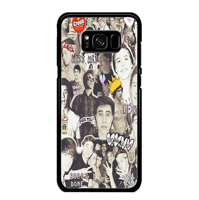 One Direction and 5sos Samsung Galaxy S8 Plus Case New Year Gifts 2020-Samsung Galaxy S8 Plus Cases-Recovery Case