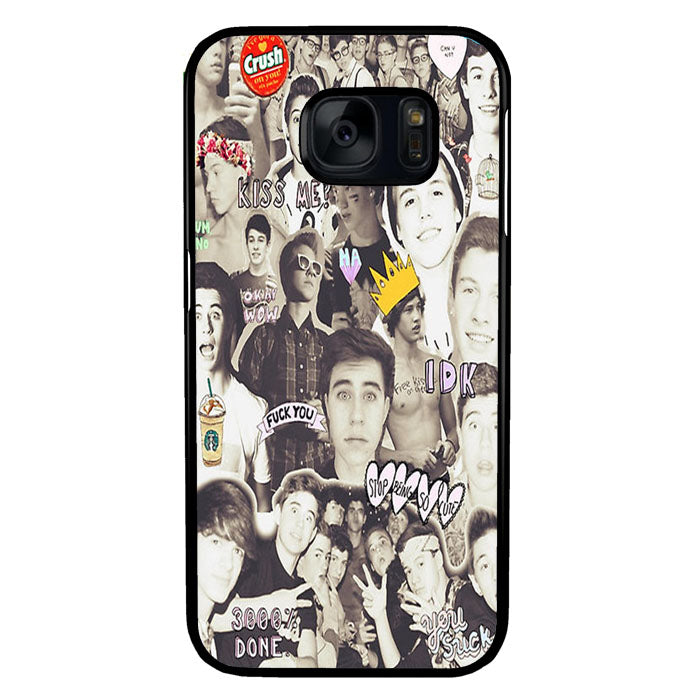 One Direction and 5sos Samsung Galaxy S7 Case New Year Gifts 2020-Samsung Galaxy S7 Cases-Recovery Case
