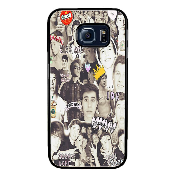 One Direction and 5sos Samsung Galaxy S7 Edge Case New Year Gifts 2020-Samsung Galaxy S7 Edge Cases-Recovery Case