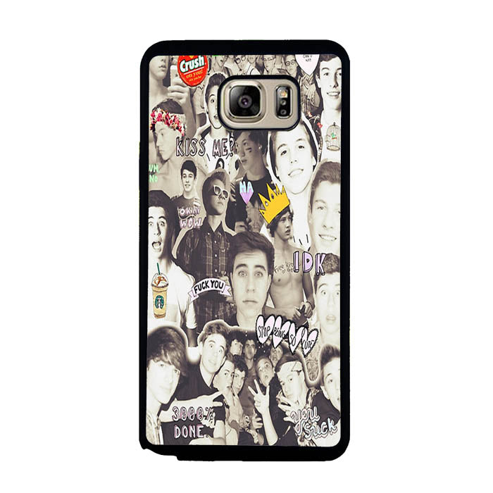 One Direction and 5sos Samsung Galaxy Note 5 Case New Year Gifts 2020-Samsung Galaxy Note 5 Cases-Recovery Case