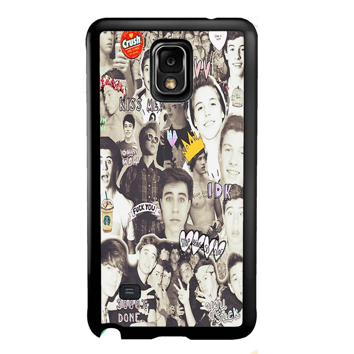 One Direction and 5sos Samsung Galaxy Note 4 Case New Year Gifts 2020-Samsung Galaxy Note 4 Cases-Recovery Case