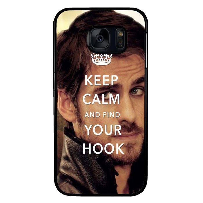 Once Upon A Time Captain Hook Keep Calm Samsung Galaxy S7 Case New Year Gifts 2020-Samsung Galaxy S7 Cases-Recovery Case
