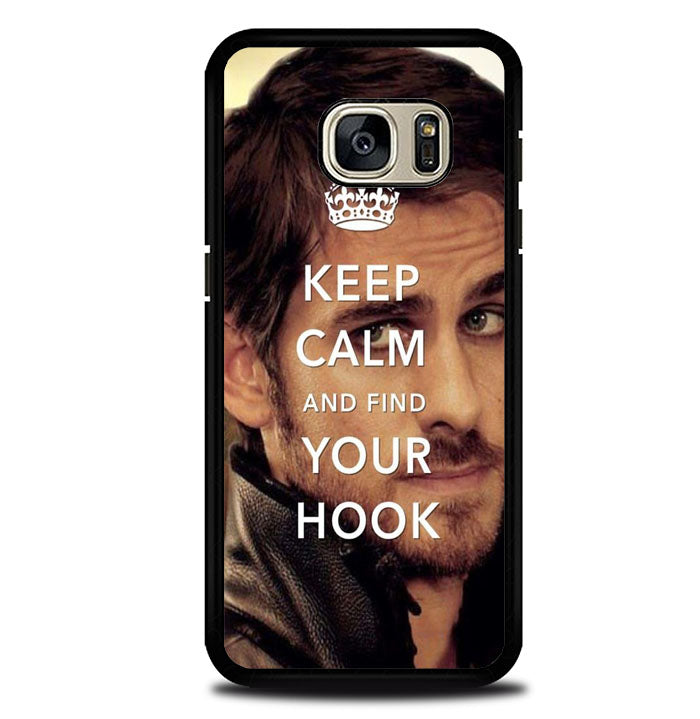 Once Upon A Time Captain Hook Keep Calm Samsung Galaxy S7 Case