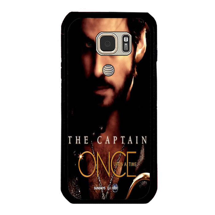 Once Upon A Time Captain Hook cover Samsung Galaxy S7 Active Case New Year Gifts 2020-Samsung Galaxy S7 Active Cases-Recovery Case