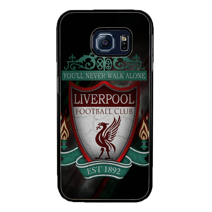 Liverpool Fc Logo never walk alone Samsung Galaxy S7 Edge Case New Year Gifts 2020-Samsung Galaxy S7 Edge Cases-Recovery Case