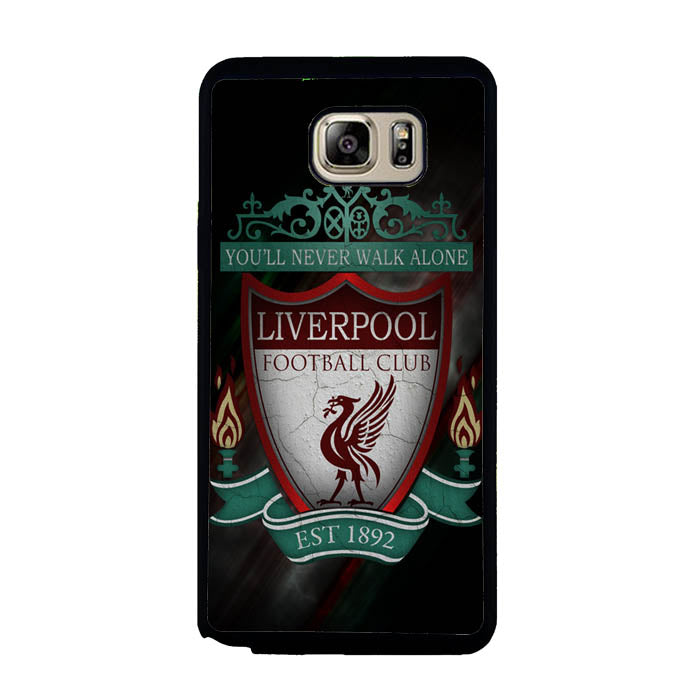 Liverpool Fc Logo never walk alone Samsung Galaxy Note 5 Case New Year Gifts 2020-Samsung Galaxy Note 5 Cases-Recovery Case