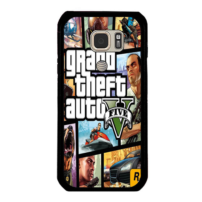 grand theft Samsung Galaxy S7 Active Case New Year Gifts 2020-Samsung Galaxy S7 Active Cases-Recovery Case