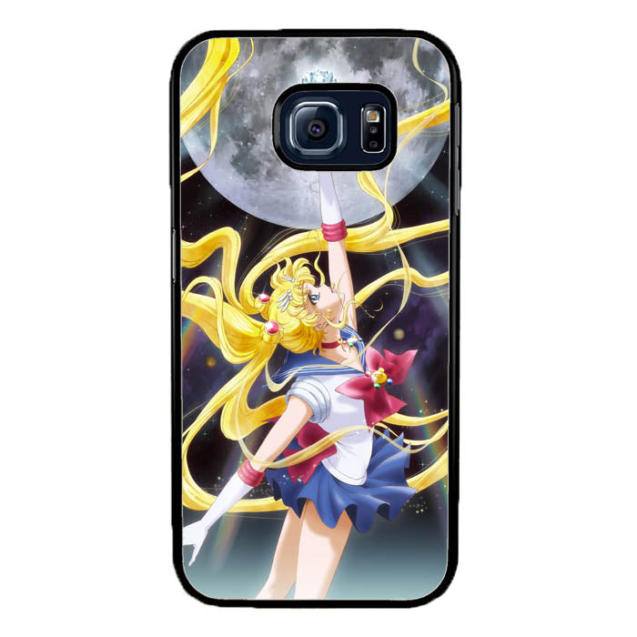 Sailormoon, Pretty Soldier Samsung Galaxy S7 Edge Case New Year Gifts 2020-Samsung Galaxy S7 Edge Cases-Recovery Case
