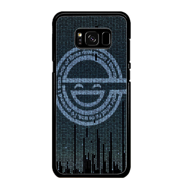 Ghost in The Shell Logo Samsung Galaxy S8 Case New Year Gifts 2020-Samsung Galaxy S8 Cases-Recovery Case