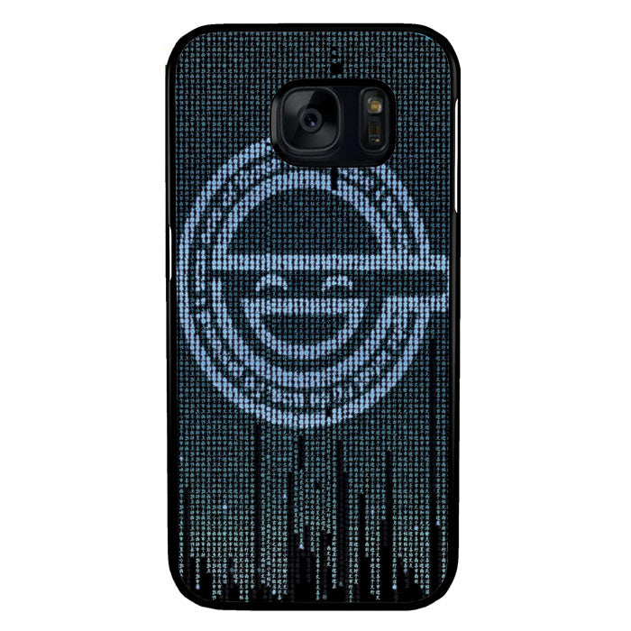 Ghost in The Shell Logo Samsung Galaxy S7 Case New Year Gifts 2020-Samsung Galaxy S7 Cases-Recovery Case