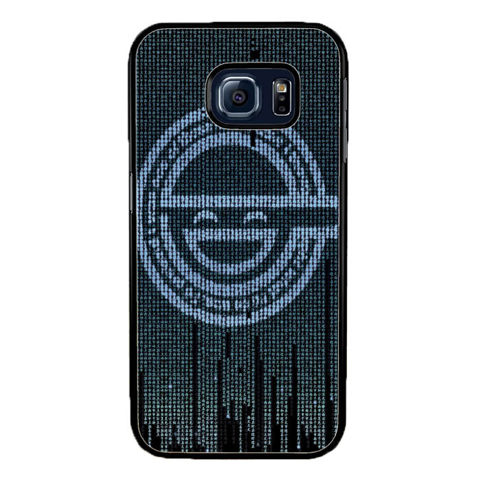 Ghost in The Shell Logo Samsung Galaxy S7 Edge Case New Year Gifts 2020-Samsung Galaxy S7 Edge Cases-Recovery Case