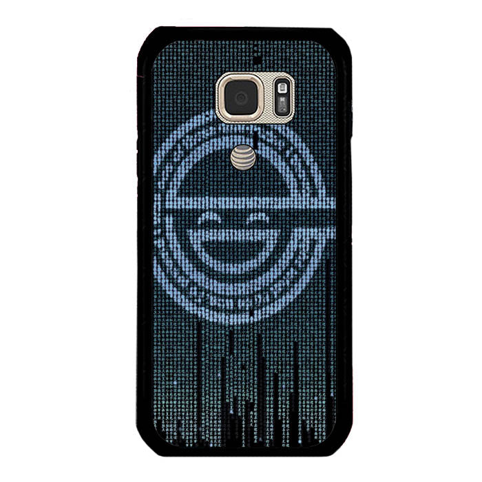 Ghost in The Shell Logo Samsung Galaxy S7 Active Case New Year Gifts 2020-Samsung Galaxy S7 Active Cases-Recovery Case