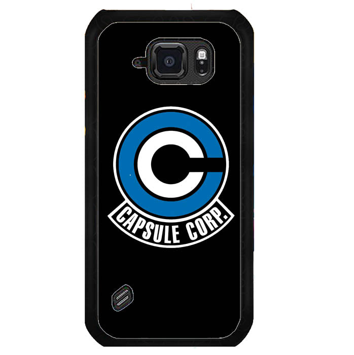 new style 6c2ae 0dd4d Dragonball Capsule Corporation Samsung Galaxy S6 Active Case