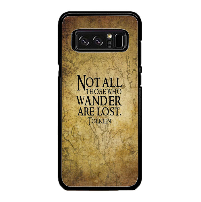 Not All Those Who Wander are Lost Tolkien Samsung Galaxy Note 8 Case New Year Gifts 2020-Samsung Galaxy Note 8 Cases-Recovery Case
