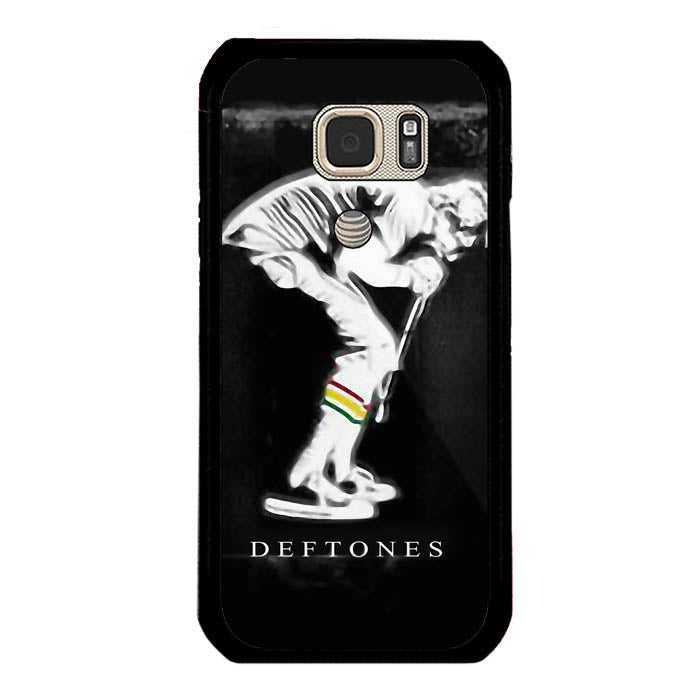 deftones rock band scream logo Samsung Galaxy S7 Active Case New Year Gifts 2020-Samsung Galaxy S7 Active Cases-Recovery Case