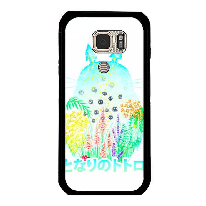 My Neighbor Totoro Watercolor Samsung Galaxy S7 Active Case New Year Gifts 2020-Samsung Galaxy S7 Active Cases-Recovery Case