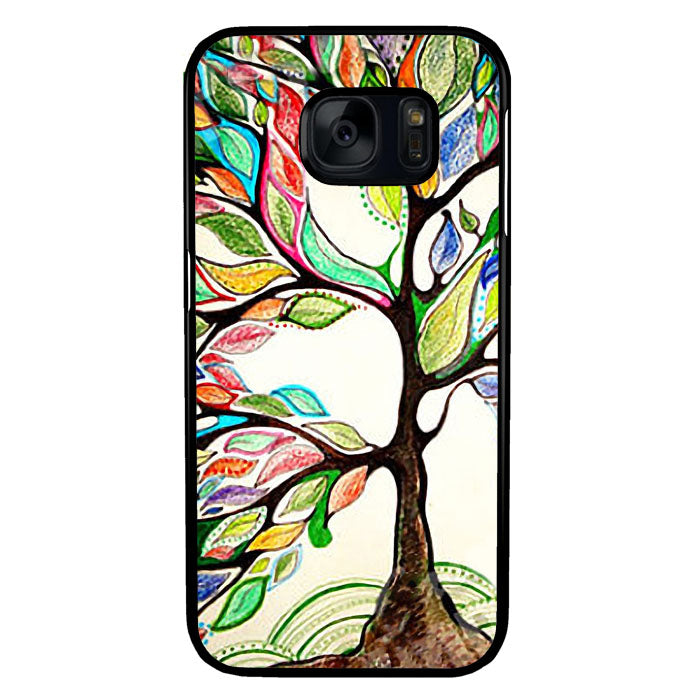 Tree of Life, Oil Paint Samsung Galaxy S7 Case New Year Gifts 2020-Samsung Galaxy S7 Cases-Recovery Case
