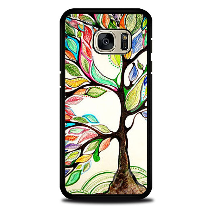 Tree of Life, Oil Paint Samsung Galaxy S7 Case