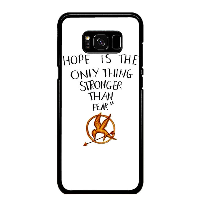 Hope is The Only Thing Stronger Than Fear Samsung Galaxy S8 Case New Year Gifts 2020-Samsung Galaxy S8 Cases-Recovery Case
