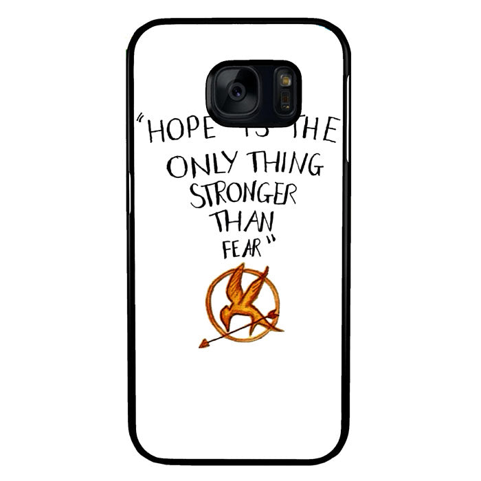 Hope is The Only Thing Stronger Than Fear Samsung Galaxy S7 Case New Year Gifts 2020-Samsung Galaxy S7 Cases-Recovery Case