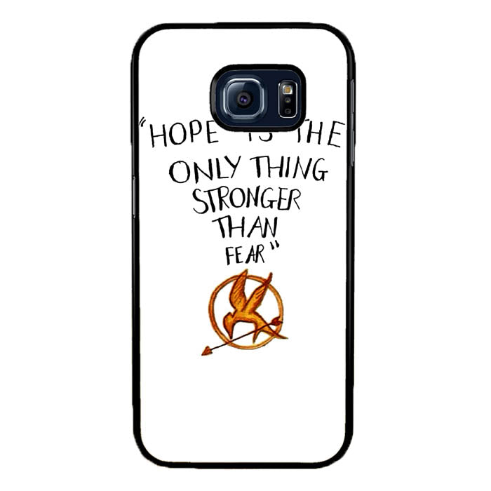Hope is The Only Thing Stronger Than Fear Samsung Galaxy S7 Edge Case New Year Gifts 2020-Samsung Galaxy S7 Edge Cases-Recovery Case