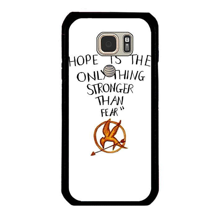 Hope is The Only Thing Stronger Than Fear Samsung Galaxy S7 Active Case New Year Gifts 2020-Samsung Galaxy S7 Active Cases-Recovery Case
