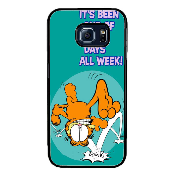 Garfield One Of Those Days Samsung Galaxy S7 Edge Case New Year Gifts 2020-Samsung Galaxy S7 Edge Cases-Recovery Case