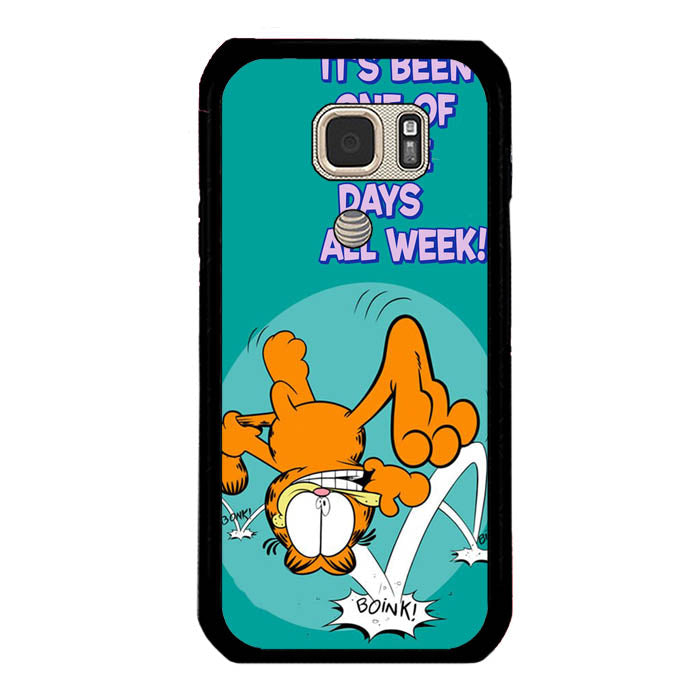 Garfield One Of Those Days Samsung Galaxy S7 Active Case New Year Gifts 2020-Samsung Galaxy S7 Active Cases-Recovery Case
