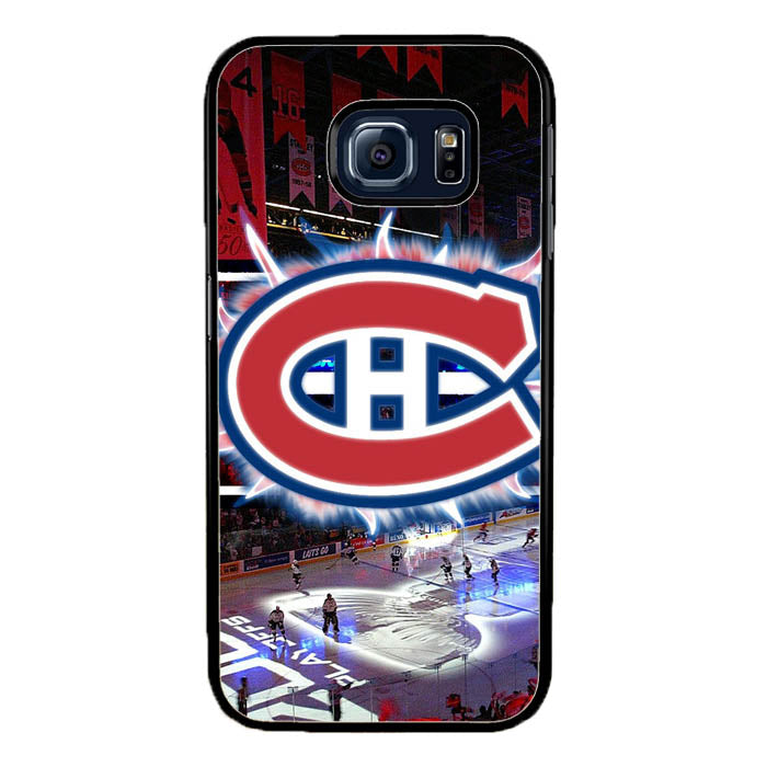 Montreal Canadiens-Ice Hockey Team Samsung Galaxy S7 Edge Case New Year Gifts 2020-Samsung Galaxy S7 Edge Cases-Recovery Case