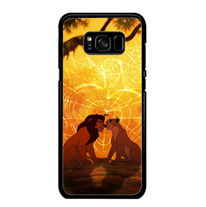lions love story Samsung Galaxy S8 Case New Year Gifts 2020-Samsung Galaxy S8 Cases-Recovery Case