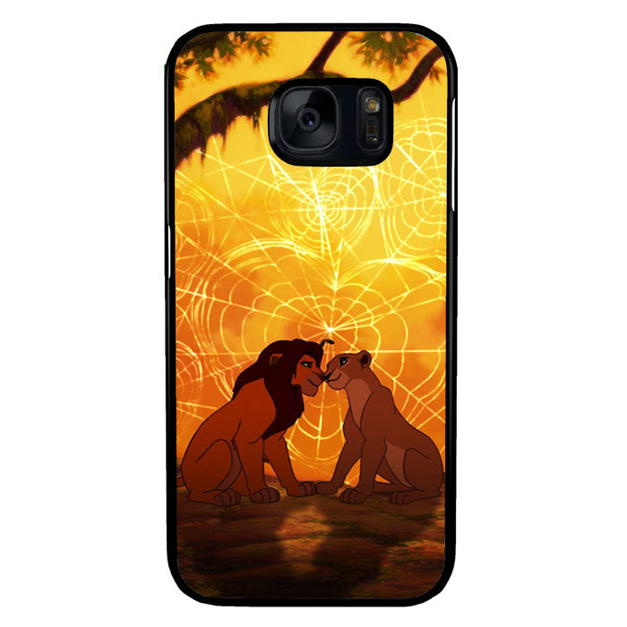lions love story Samsung Galaxy S7 Case New Year Gifts 2020-Samsung Galaxy S7 Cases-Recovery Case