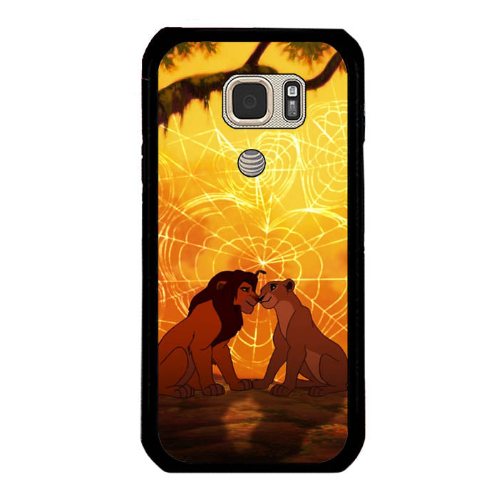 lions love story Samsung Galaxy S7 Active Case New Year Gifts 2020-Samsung Galaxy S7 Active Cases-Recovery Case