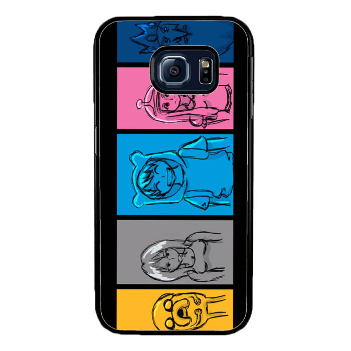 jake and fin A0135 Samsung Galaxy S7 Edge Case New Year Gifts 2020-Samsung Galaxy S7 Edge Cases-Recovery Case