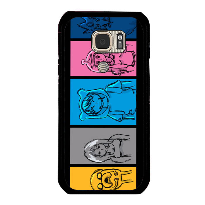 jake and fin A0135 Samsung Galaxy S7 Active Case New Year Gifts 2020-Samsung Galaxy S7 Active Cases-Recovery Case