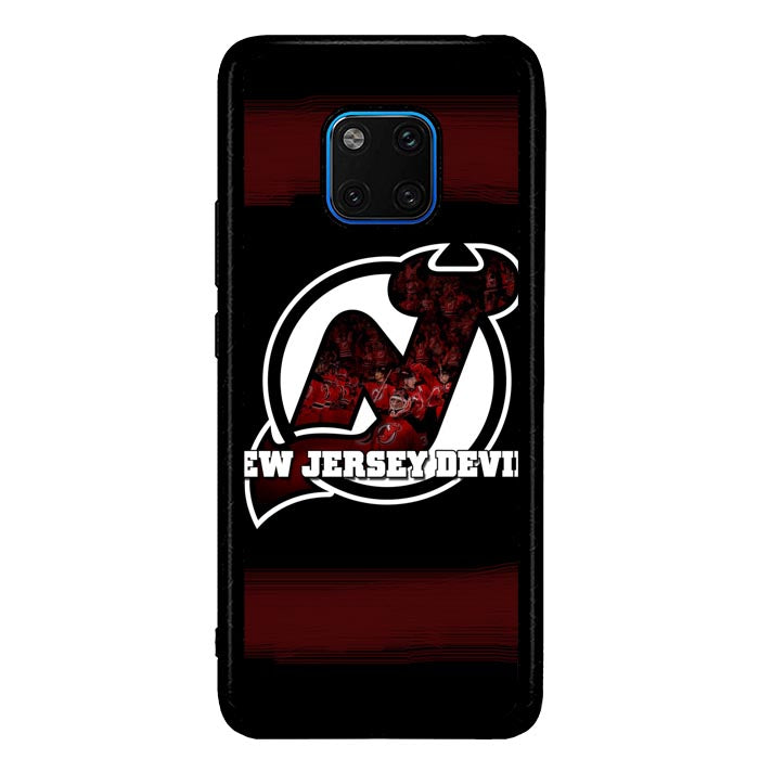 New Jersey Devils NHL Team Logo1 A0095 Huawei Mate 20 Pro Case