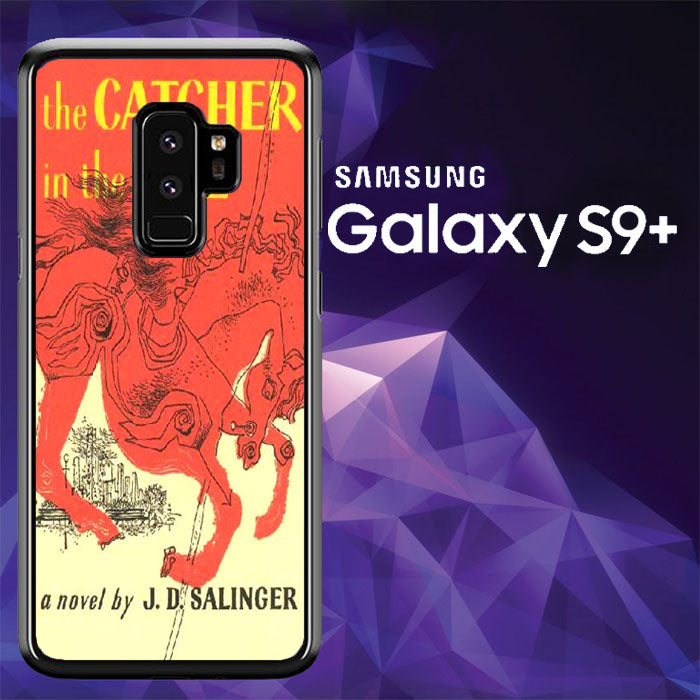Catcher in the rye book J.D Salinger A0217 Samsung Galaxy S9 Plus Case New Year Gifts 2020-Samsung Galaxy S9 Plus Cases-Recovery Case