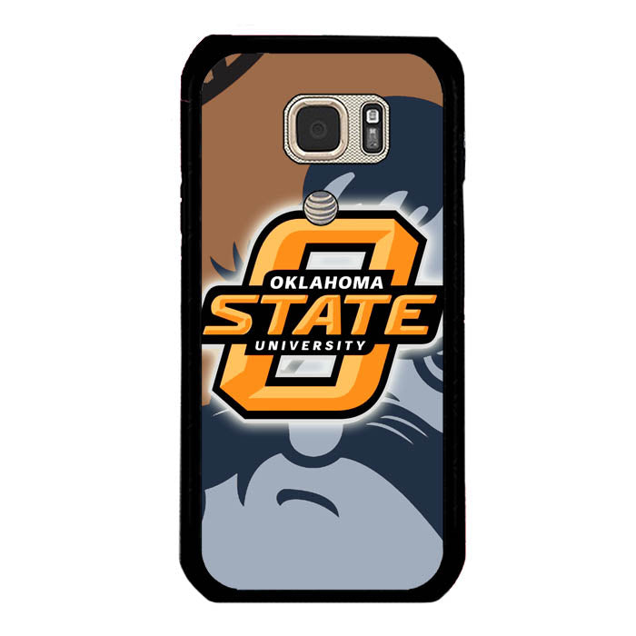 Hot New Design Oklahoma State Cowboys Logo A0429 Samsung Galaxy S7 Active Case New Year Gifts 2020-Samsung Galaxy S7 Active Cases-Recovery Case