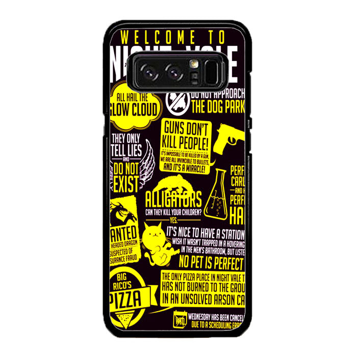 Welcome to Night Vale Quotes A0464 Samsung Galaxy Note 8 Case New Year Gifts 2020-Samsung Galaxy Note 8 Cases-Recovery Case